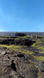 Lava fields on Crater Rim Drive